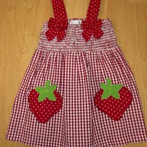 Sale 🎈🎈Emily Rose Strawberry dress